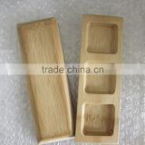 Customer Natural bamboo rectangular sushi Plate