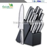 Manufacturers selling household 12 sets multi-function stainless steel kitchen knife cut bread