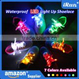 Alibaba China Promotional Colored Christmas Gift Flashing Light Up LED Shoelaces for Ornament - Running Shoes with LED Shoelaces