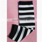 2014 baby leg warmers black and white stripe pattern