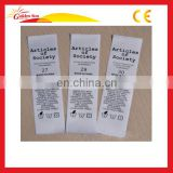 Hot Sale High Quality Wash Care Label For Clothing