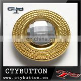 (JB098) brass dome button