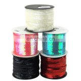 Metallic Sequins Trim Strand Ribbon