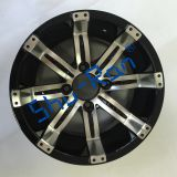 Golf Cart Accessories- 12*7.5 inch Golf Cart Wheels for Ezgo, Club car, Yamaha golf cart