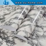OUHOME High Glossy Marble Effect PVC Waterproof Imitation Vinyl Self Adhesive Foil