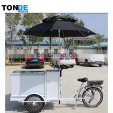 solar ice cream bike street food bike