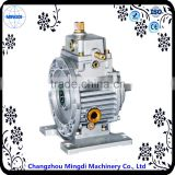 sewing machine Used Worm Stepless Variable Speed Gear box with diesel engine Electric Motor