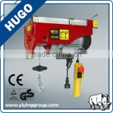 promotional wholesale 200-1000KG 220V/single phase Wire Rope Mini PA Type Electric Hoist with Electric Trolley