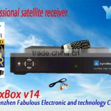 JynxBox Ultra HD V14 remote control universal receiver full hd dvb-s2 digital satellite receiver tuner module set top box