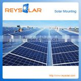 Tin Roof PV Solar Panel Aluminum Mounting System solar panel solutions commercial solar system