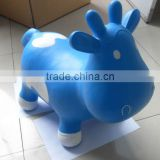 inflatable jumping animal/pvc animal/hopper animals