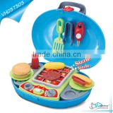 Sound Blue Barbecue Play Set Toys For Boy