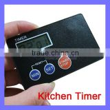 Kitchen Necessity 3 Button Easy Operate Back Magnet Cooking Timer