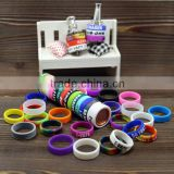 Mod protector ecig vapor ring heat proof vape band silicone band flexible vape ring for mech mod atomizer clearomizer tank rba