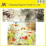 Poly Pongee printed fabric for mattress cover,bath curtain/TC self printed fabric for textile