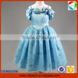 New design baby girls elegant and sweet lace wedding dresses wholesale kids girl realistic halloween costume (Ulik)