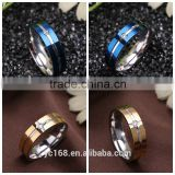 Online Shopping 316l Stainless Steel Jewelry Type Gypsy Setting Single Stone Ring Designs for Men