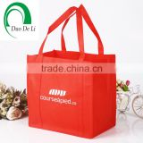 Promotion cheapest Handled Style and Non-woven Material non woven exhibitors handbags