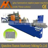 HX-380 Sale restaurant folding and printing paper napkin making machine price