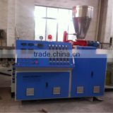 20-63mm CPVC pipe extruder machine of twin screw design