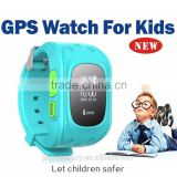 Historical Track Playback Child GPS Watch/Real-time Monitoring Kids Watch Tracker/Pedometer Heart Rate Monitor Watch
