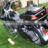 DB-fashionable lighting Motorcycle Tail Box with wing