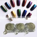 Full Beauty Chrome Silver Mirror Effect Pigment Shinning Glitter DIY Powder Dust Nail Art