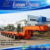 Multi-axle hydraulic truck trailer / modular trailer with hydraulic steering wheels for sale
