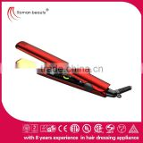 2014 hair straightener with car plug water transfer coating hair straightener iron mini hair straightener
