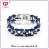 Custom fashion jewelry white gold plated bracelet new gold bracelet designs men