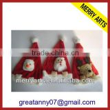 China supplier crazy animaled christmas santa hat xmas cap cheap christmas decoration hats for kids