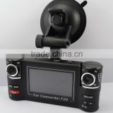 2.7 inch big LCD best dual lens SOS car dvr car camcorder f20                                                                         Quality Choice