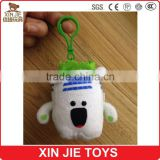 house shape plush pendant for promotional cheapest plush building shape keychain school bag soft pendant for children                                                                         Quality Choice