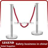 Alibaba website polished stanchion,velvet rope stanchion