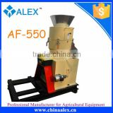 2016 new arrival feed granulator AF-550 direct connection type animal feed pellet machine for sale in Europe and Asia