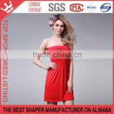 New design Style strapless Sleeveless Slim Hip One-piece ladies Dress Y165