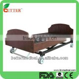 movable full lower 3 function electronic home care medical bed