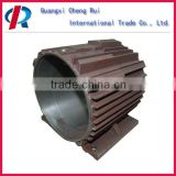 customized sand casting cast iron motor frame in mechanical parts&fabrication services