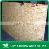 wooden panels osb prices/Cheap packing osb board, Linyi manufacturer (Oriented Strand Board))