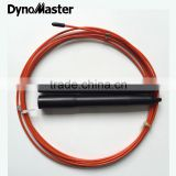 dynomaster Fast Skipping Cable Speed Jump Rope Skipping Jump Rope for CrossFit Nylon coated braided cables speed rope