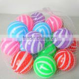 6cm 20 pcs hollow plastic balls for children pool