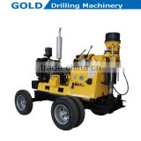 Diesel Power Core Drilling Rig, Hydraulic Feeding Water Well Drilling Rig, Large Torque Water Drilling Rig