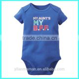 2016 fashionable baby body suit kids summer bodysuit infant baby sleepsuit