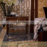 JB08-03 Nightstand Brass Ferrules on Legs in Bedroom from JL&C Furniture Lastest Designs (China Supplier)