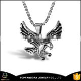 Wholesale unique animal stainless steel high quality eagle pendant