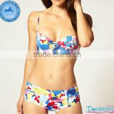 Domi wholesale new design beach high waist junior girls swimwear xxx photos/pictures of women in sexy mature/www sex image .com