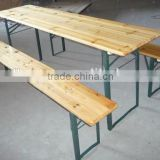 Cheap Fir Wood beer table sets, beer table and bench