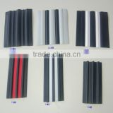 Top quality different sizes PVC plastic rubbering strake used part of inflatable boat accessaries