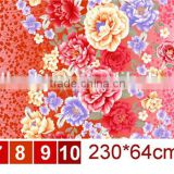 75gsm 240cm disperse printed polyester bed sheet fabric for children and adult bed fabric