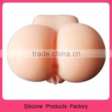 Real Adult Silicone Sex Ass Pussy Artificial Vagina Sex Toy Rubber Big Ass Pussy For Men